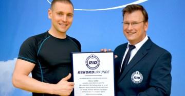 Immer wieder Sonntags - Europa-Park - Rekord Ski-Seilsprung