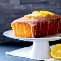 Zitronen-Joghurt-Kuchen.