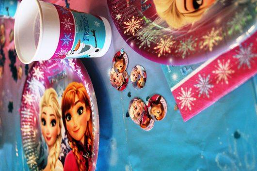 Frozen Geburtstag