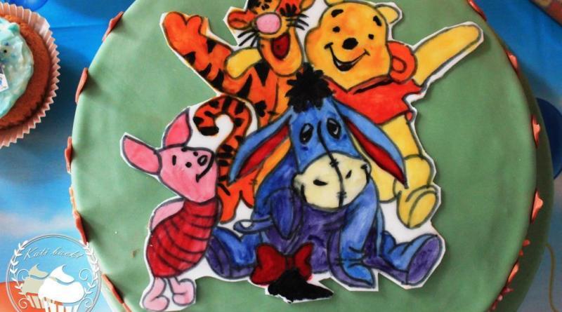 Winnie Pooh, Winnie Pooh Torte, 2. Geburtstag, Torte, Motivtorte, Motivtorte Winnie Pooh