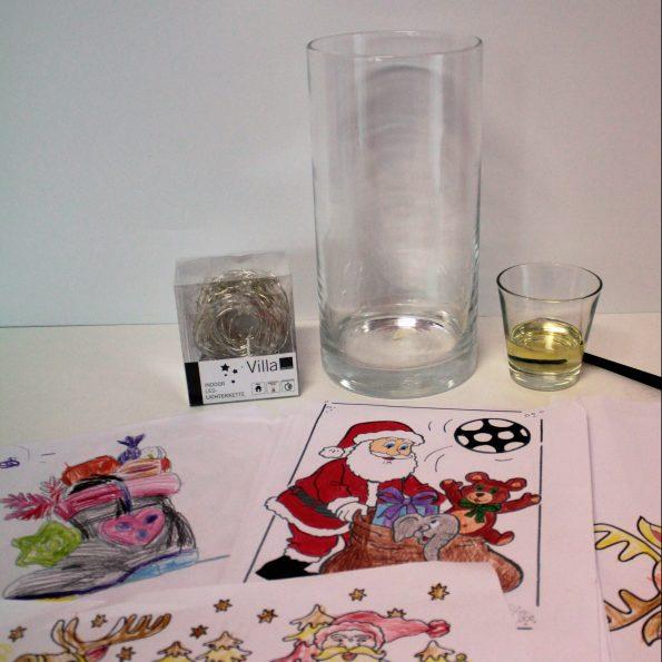 Diy Basteln Mit Kindern Weihnachtliches Windlicht