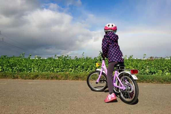 Fahrrad, Kinder, Bewegungsdrang, Sport für Kinder, Kinder Fördern, Kinder sportlich fördern