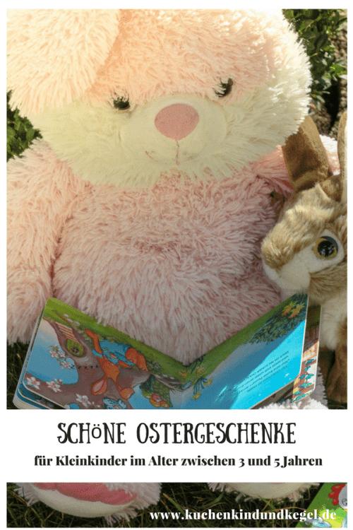 Habt ihr schon alle Ostergeschenke zusammen? Ich habe ein paar Ideen für schöne Ostergeschenke für Kleinkinder von 3 bis 5 Jahren für euch. Ob mit kleinem oder großem Budget, für jeden ist etwas dabei!