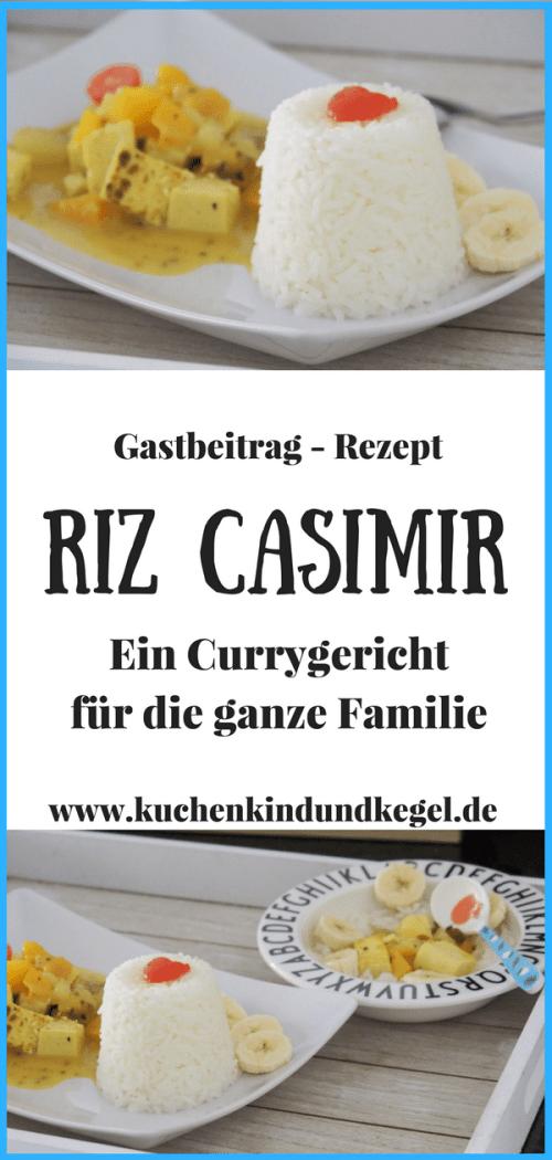 Riz Casimir - Ein vegetarisches Rezept mit Curry für die ganze Familie.