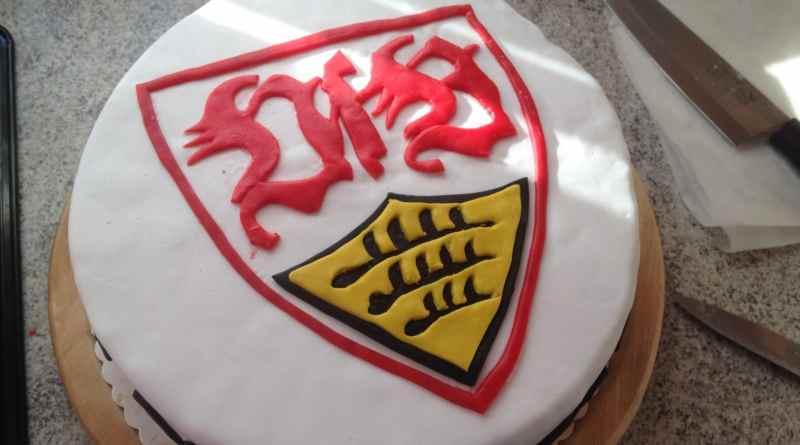 Geburtstagstorte, Fussballtorte, VfB Stuttgart, Motivtorte Fussball, Motivtorte VfB Stuttgart
