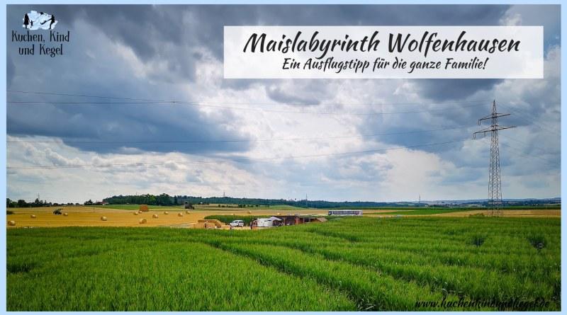 Maislabyrinth Wolfenhausen, ein Ausflugstipp für die ganze Famili - Irrgarten-Ausflug-Ausflüge mit Kindern