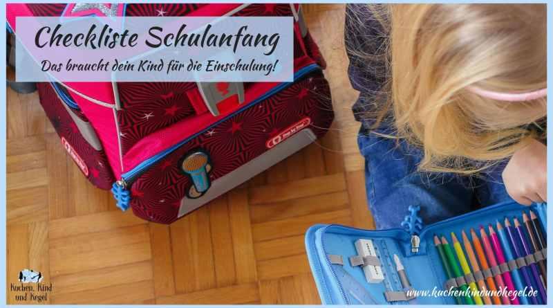 Das braucht dein Kind für die Einschulung - Checkliste Schulanfang, Schultüte, Schulranzen, Tipps für die Einschulung, Wie läuft die Einschulung ab, Tipps für die Schultütenfüllung (2)
