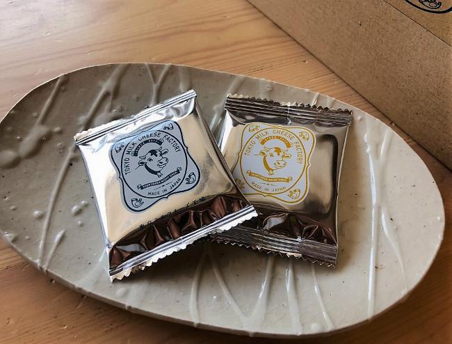 東京ミルクチーズ工場のクッキー個包装