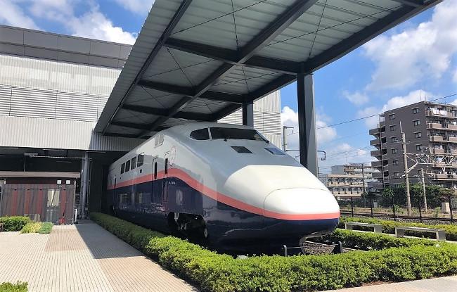 鉄道博物館・E1系の展示