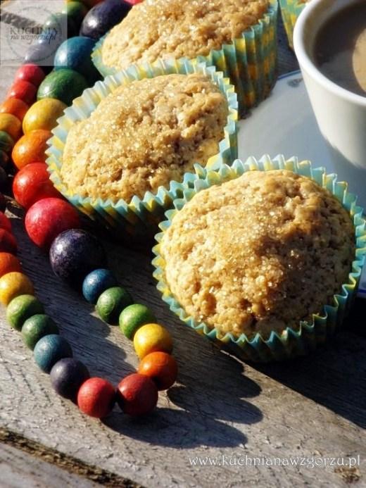 muffiny cynamonowe z posypką