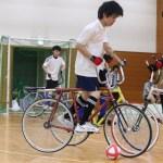 サイクルサッカー班 試合風景 (2)