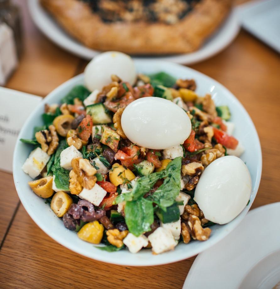 suadiye - beyaz fırın - küçük martha - mekan önerileri - kahvaltı - brunch- salata
