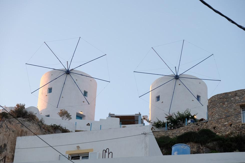 Küçük Martha - Gastronomi Rotası - Leros - windmills 1