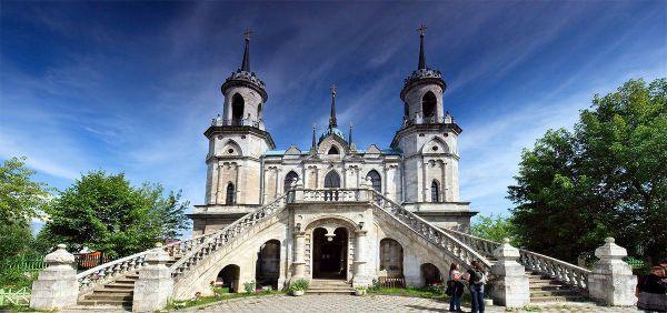 Экскурсия Баженов. Усадьба Быково: дворец, готическая ...