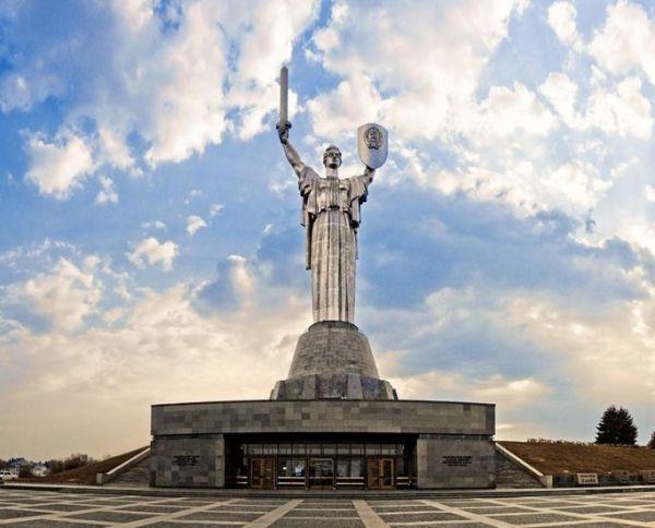 Смотровая площадка «Родина-мать» в Киеве
