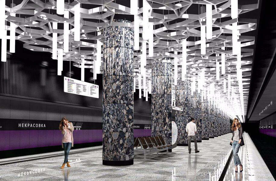 Проект станции Некрасовка