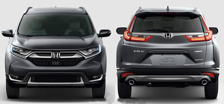All New Honda CR-V 2017 Akhirnya Meluncur di Thailand