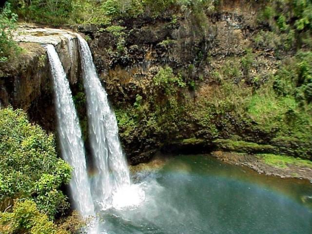 افتح القائمة اليسرى جزر هاواي. جزر هاواي