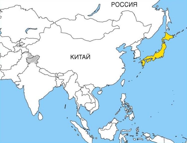 Karta Japana S Otocima Mapa Japana Na Ruskom Japan Na Mapi Svijeta