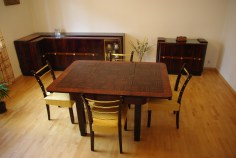 Jadalnia M.Robak(rozłożony stół)