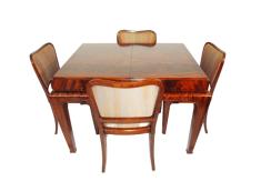Stół,krzesła art deco od jadali S.I