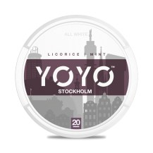 yoyo snus all white nicotine pouch