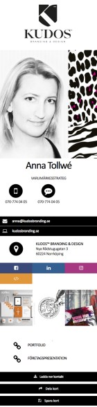 Peter Mäkelä digitalt visitkort mittvisitkort.se