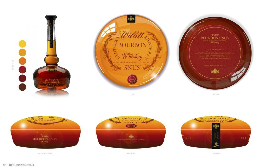 Sprit design › Willet Bourbon Whiskey
