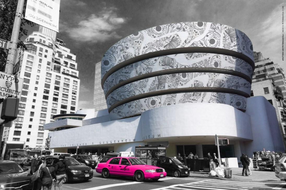 fasaddekor Guggenheim