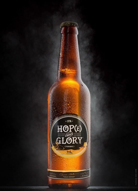 Varumärkesdesign › Hop(e) & Glory IPA-öl