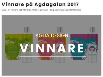 Kudos agda design 2017