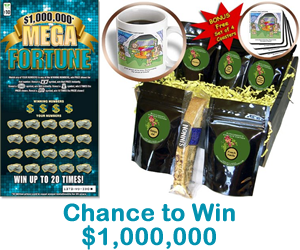 Mega Fortune Coffee Basket Sweepstakes