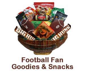 football fan goodies and snacks