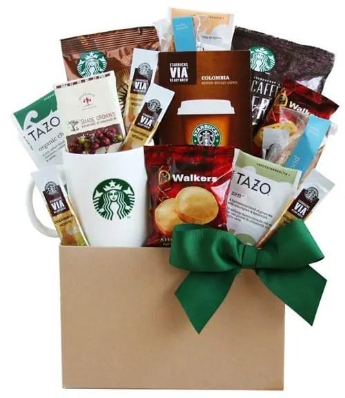 starbucks coffee and tea gift box