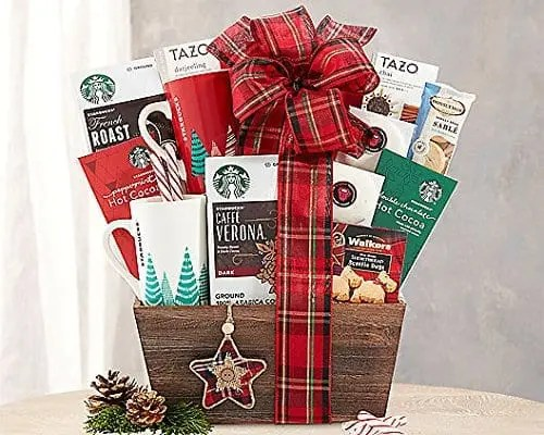 Starbucks Holiday Coffeehouse and Peppermint Hot Cocoa Gift Basket Sweepstakes