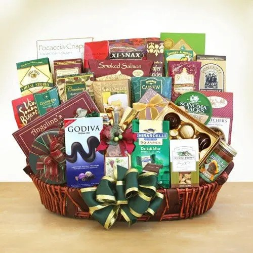 Ghirardelli and More Holiday Gourmet Food Gift Basket