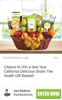 New Year California Delicious Share The Health Gift Basket Sweepstakes