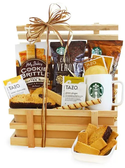 Starbucks Pick Me Up Biscotti Gift Crate Sweepstakes