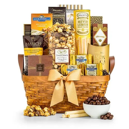 Ghirardelli As Good As Gold Gourmet Gift Basket Sweepstakes