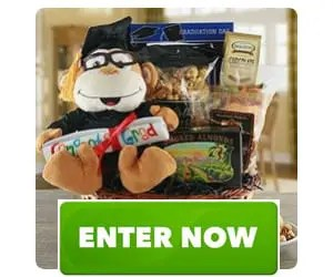 Graduation Sweet Success Gift Basket Sweepstakes