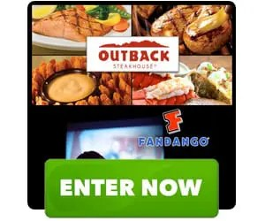 Outback Steakhouse Movie Night Gift Spree Sweepstakes