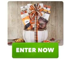 Ghirardelli Dark Chocolate Harvest Favorites Gift Basket Sweepstakes