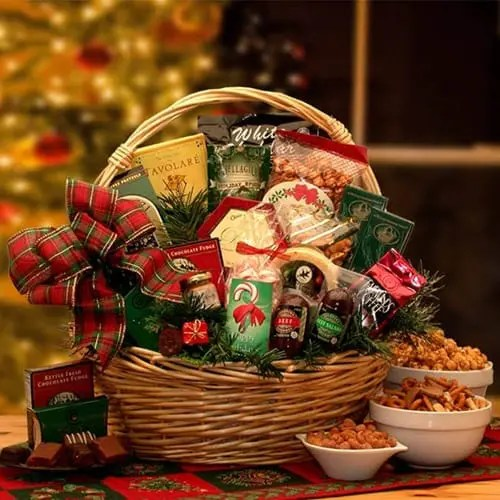 Old-Fashioned Holiday Fudge Celebrations Gift Basket Sweepstakes
