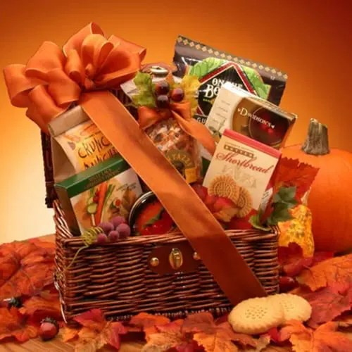 Shortbread Cookie Chest with Thanksgiving Gift Basket Sweepstakes
