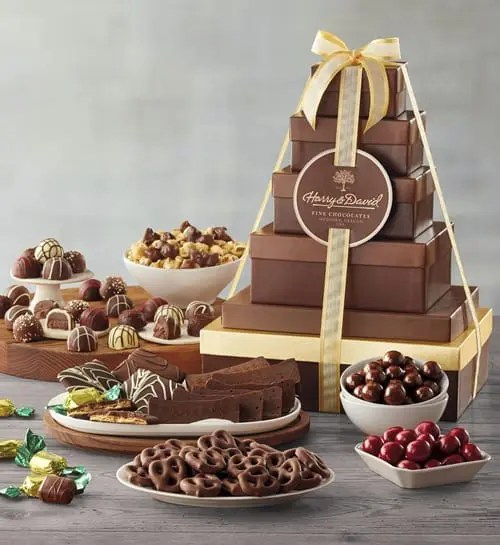 Harry & David Deluxe Tower of Chocolates Gift Basket Sweepstakes