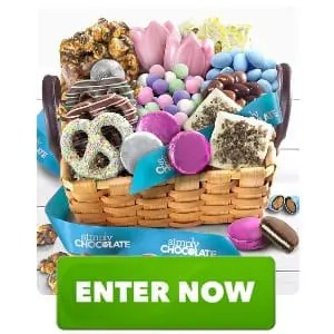 Chocolate Caramel Robin Eggs to Celebrate Spring Gift Basket Sweepstakes