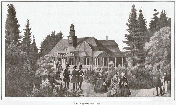 Kudowa Zdrój z roku 1800