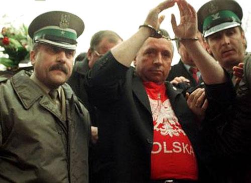 """W 2000 roku na granicy Polsko-Czeskiej w Kudowie Słonym miało miejsce aresztowanie Andrzeja Leppera. Działacz """"Samoobrony"""" został zatrzymany przez Straż Graniczną."""