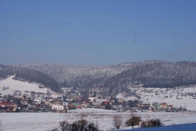 Czermna nazwa dawnej wsi obecnie dzielnica Kudowy Zdroju