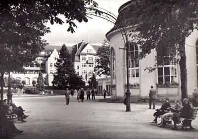 Kudowa Zdrój lata 60-te dwudziestego wieku
